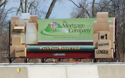 New Billboard for The Mortgage Company